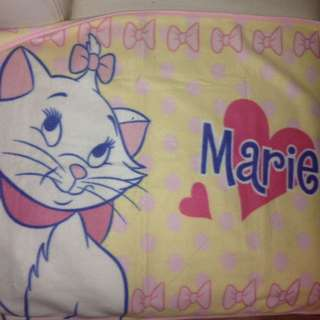 Disney The Aristocats Marie Small Blanket