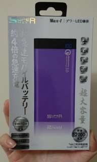 Super Max powerbank Quick Charge 12000mAh 快速充電尿袋