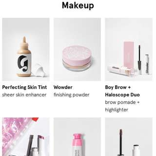 GLOSSIER MAKEUP PREORDER