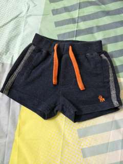 PONEY baby shorts. Size 0-6 months