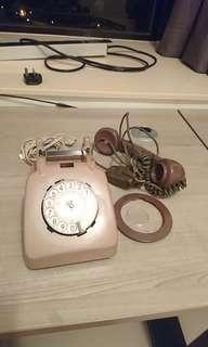 (包送貨)70/80年代脈頻電話Unfinished project pulse dial telephone
