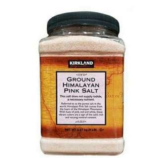 美國🇺🇸Kirkland喜馬拉雅粉紅色鹽(5磅裝)