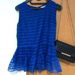 peplum top atasan