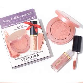 [SET] BNIB AUTHENTIC Tarte Blush and Creamy Matte Lip Paint Set
