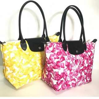 Longchamp Flower long handle original