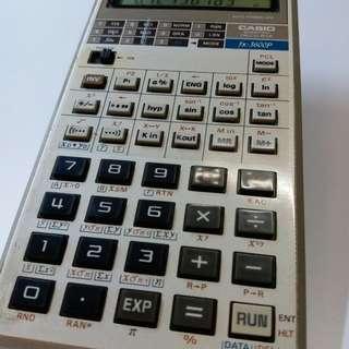 Casio fx3600p 電子計算機 {勢夠發$49.80fixed price} 100%working 90%new look !  送贈品 黑色皮套  交收時可有電試機 但電非贈品不跟機的!