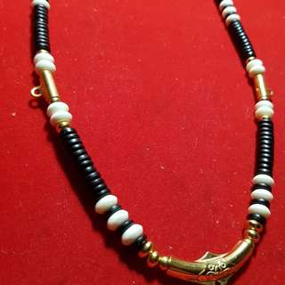 Simple ans nice hand-made amulet necklace