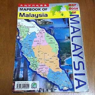 Map Book of Malaysia