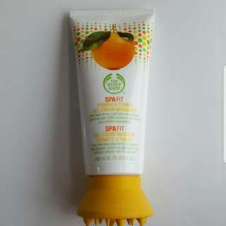 The Body Shop SPAFIT Toning Massage Gel Cream Lotion