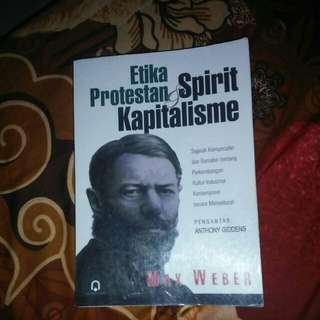 Buku- Etika Protestan dan Spirit Kapitalisme