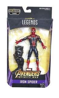 Marvel Legends Spiderman infinity war Shf Mafex medicom hottoys 黑豹美國隊長thanos紅女巫ironman