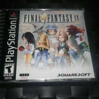 Final Fantasy IX 9 US