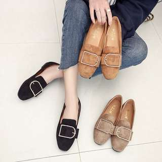 (35~42) Spring and Autumn models flat with scoop shoes a lazy single shoes shoes shoes