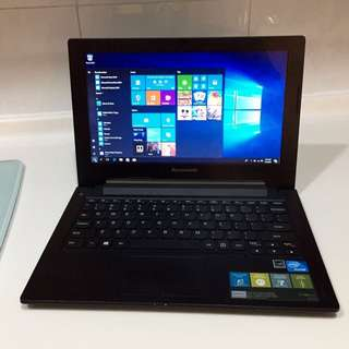 "90% New Lightweight slim Lenovo 11.6"" 1007U 4G ram 250G HDD HDMI Windows 10 Microsoft office (4 hour battery Great for Skype, Video chatting, Facebook, Internet...)"