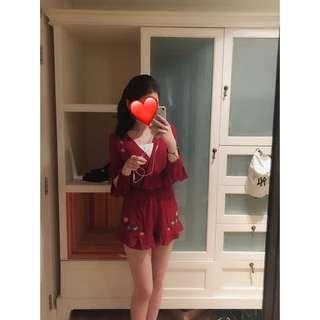 曼谷購買刺繡連身褲
