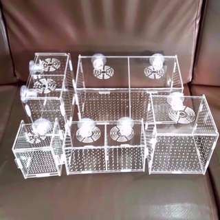 Acrylic Divider / Breeder Box / Isolate Box for Aquarium Fish Tank Reptile