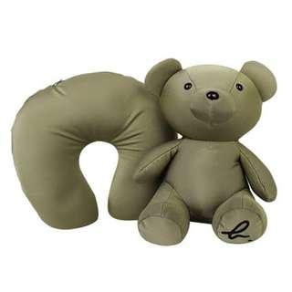 Agnes b. Convertible Neck Pillow / Agnes b.小熊收納U型枕