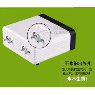 Sunsun CT-404 Four Head Adjustable Air Pump for Aquarium Fish Tank
