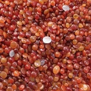 紅翡翠蛋面 3-6mm 20粒