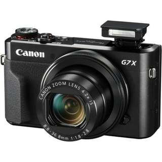 Kredit Canon PowerShot G7X Mark II - Cicilan tanpa CC Dp 10%