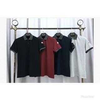 Moncler 夏季新款POLO衫