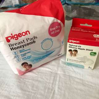 Pigeon Breast Pad and Silicon Protector