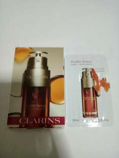 Brand New Clarins Double Serum with Curcuma Tumeric