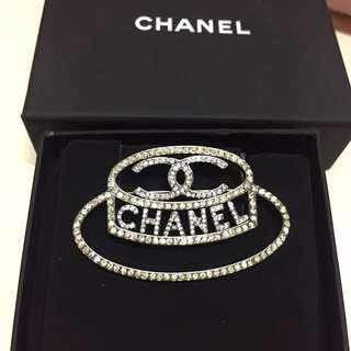 chanel  cap brooch