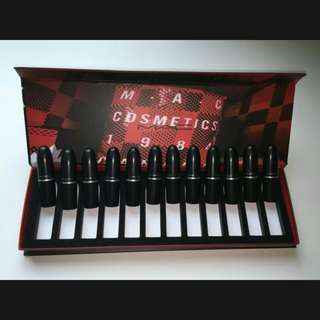 Mac 12 Lipsticks set