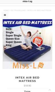 🍄 INTEX AIR BED MATTRESS