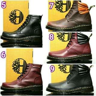 Sepatu safety boots besi