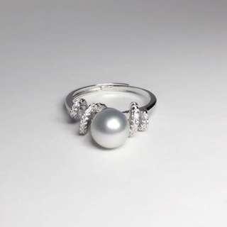Akoya Pearl Ring / S925