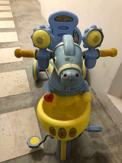 Tricycle, scooter, babywalker