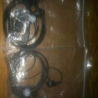 2 pin walkie talkie earpiece