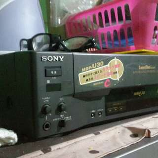 laser disc sony