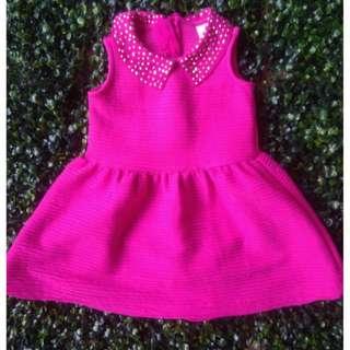 MAXX pink studded dress