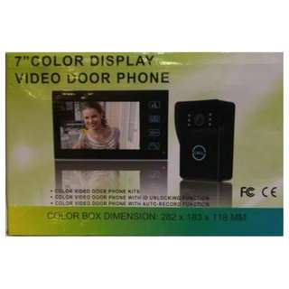 BNIB Video Door Phone 7-inch with Color Display
