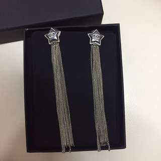 chanel star earrings