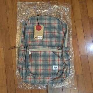 Herschel Settlement Backpack (Grey Plaid)