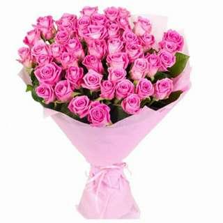 Flower Bouquet∕Hand Bouquet∕Birthday Bouquet∕Anniversary Bouquet∕Proposal Bouquet - 1C5FD