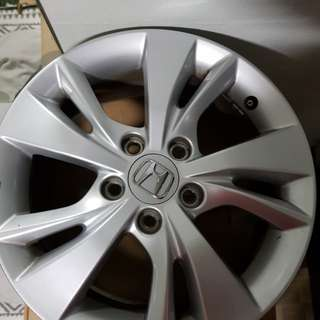 16 inch Honda rims
