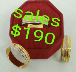 916 gold ring pre order