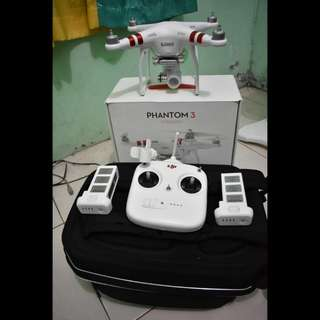 Drone DJI Phantom 3 Standard bonus baterai tambahan & tas drone (Jakarta Timur)