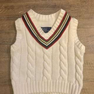Ralph Lauren knitted vest - used twice only