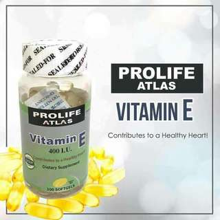 PROLIFE ATLAS VITAMIN E