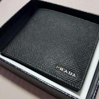 BNIB Prada mens wallet saffiano leather
