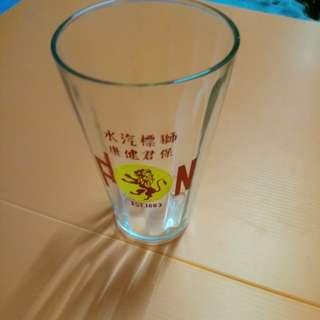 vintage F & N glass