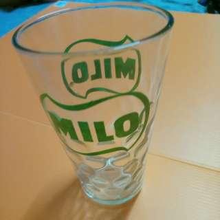 vintage milo bubble glass