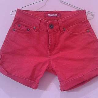 Red Hotpants (28,29,30)