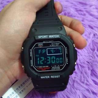 Casio inspired Sports watch